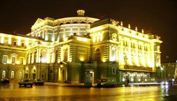 Подсветка фасадов общественных зданий