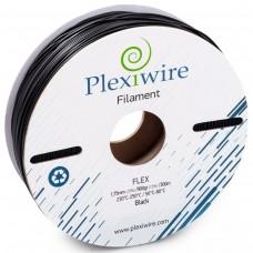 FLEX пластик для 3D принтера 1.75мм Черный (300м / 0,9кг)
