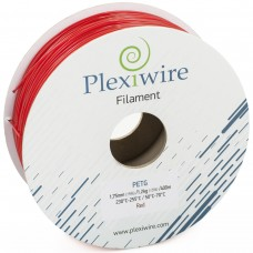 PETG пластик для 3D принтера 1.75мм Красный (300м / 0,9кг)
