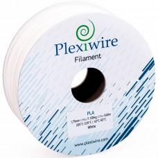 PLA пластик для 3D принтера 1.75мм Белый (300м / 0,9кг)